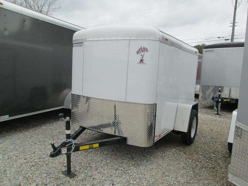 2019 5x8 Atlas Enclosed Cargo Trailer. 41037