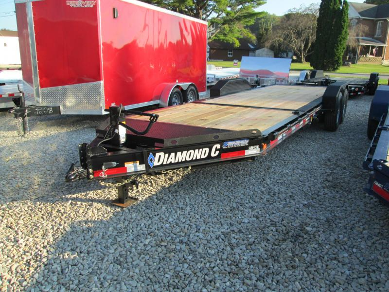 2019 16+6x82 14.9K Diamond C Equipment Trailer. 6057