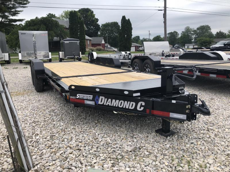 "2018 16'+4'x82"" 14.9K Diamond C Equipment Trailer. 00897"