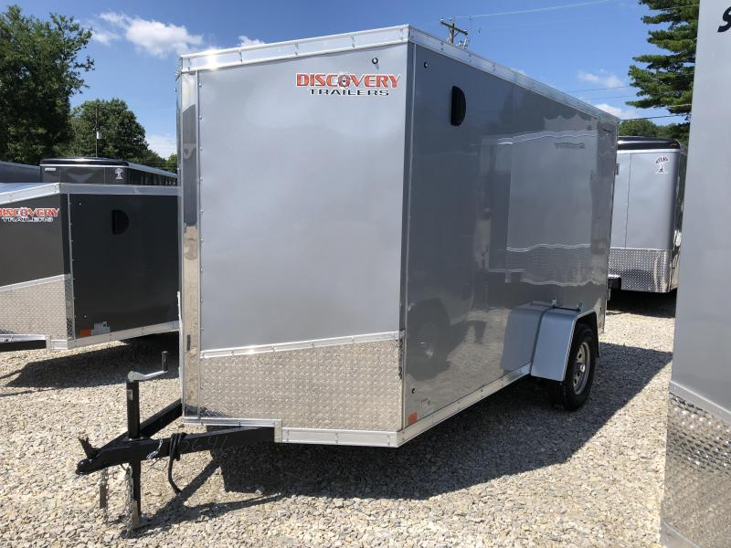 2019 6x12 Discovery Enclosed Cargo Trailer. 2641