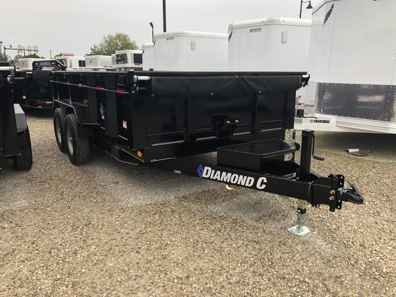 2019 14x82 14K Diamond C Dump Trailer. 5981