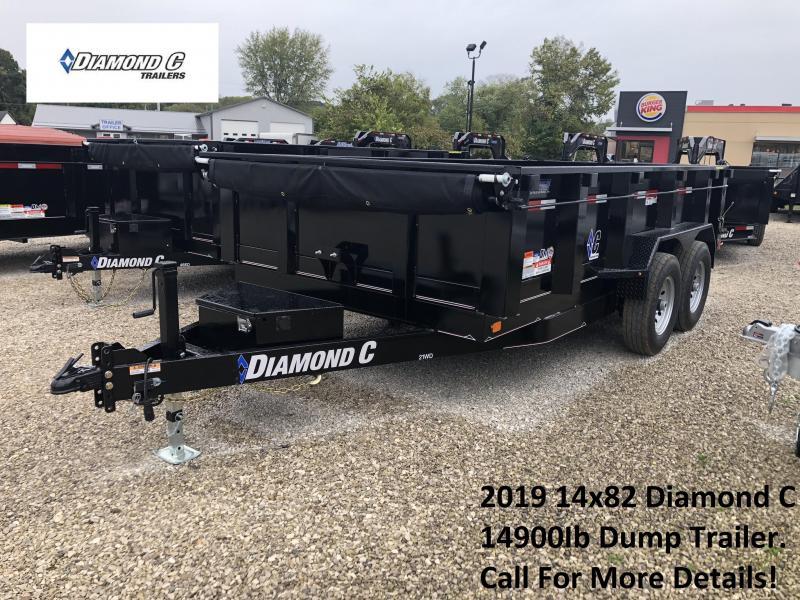2019 14x82 14K Diamond C Dump Trailer. 5981 in Ashburn, VA