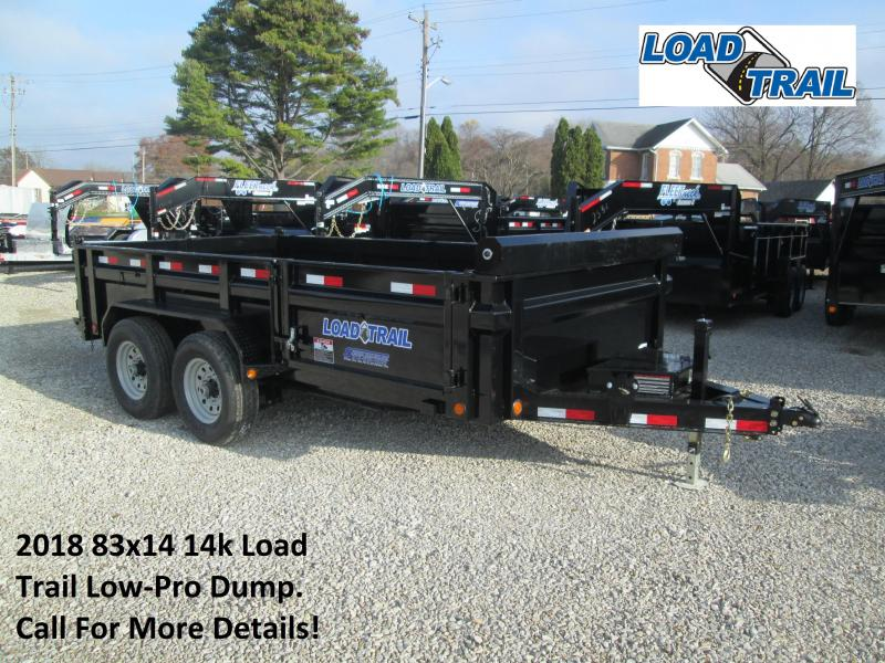 2018 83x14 14k Load Trail Low-Pro Dump. 50543