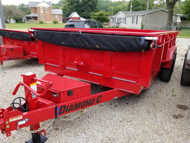 2019 16' 14900lb. Diamond C Dump. 03956 in Ashburn, VA