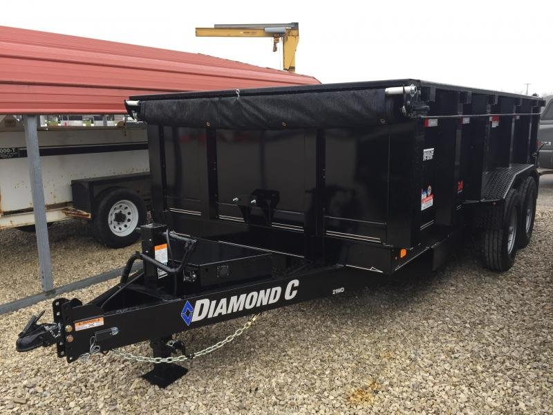 2018 Diamond C 14x82 14k Dump Trailer. 98153