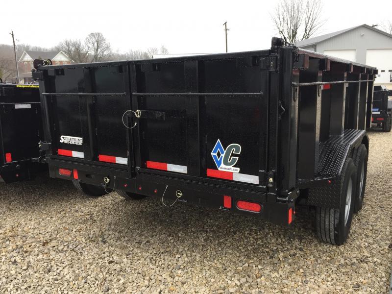 2018 Diamond C 14x82 14k Dump Trailer. 98153