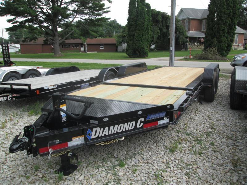 2019 16+4x82 14.9K Diamond C Tilt Equipment Trailer. 16471
