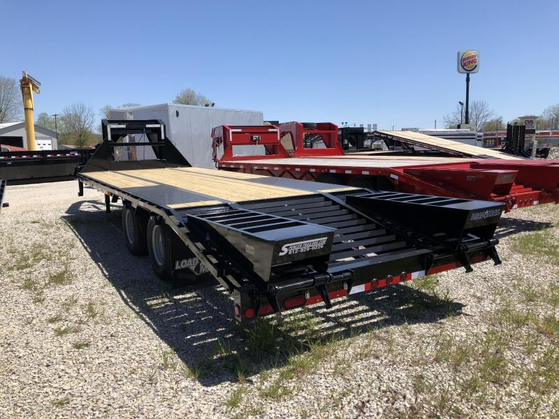 "2018 20'+5'x102"" 22K Load Trail GN Equipment Trailer. 63912"