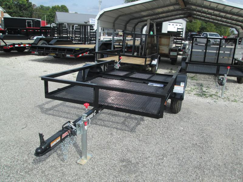 2019 5' x 8' Diamond C Single Axle Utility Trailer. 05592