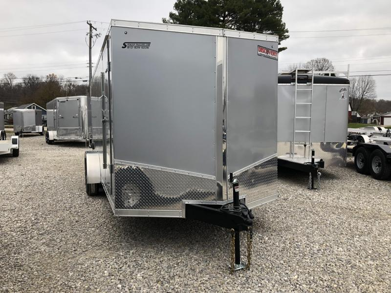 2019 7x18 10K Discovery Enclosed Trailer. 3553