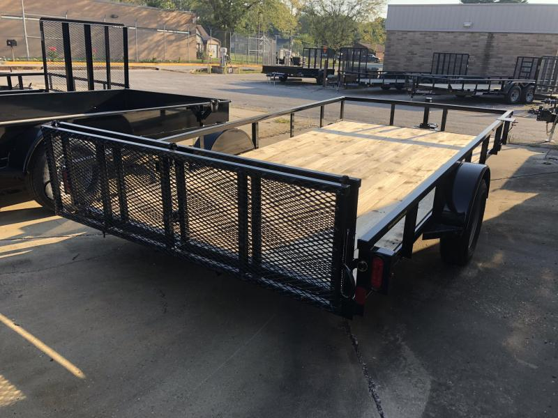 2019 14x83 Diamond C Utility Trailer. 4813