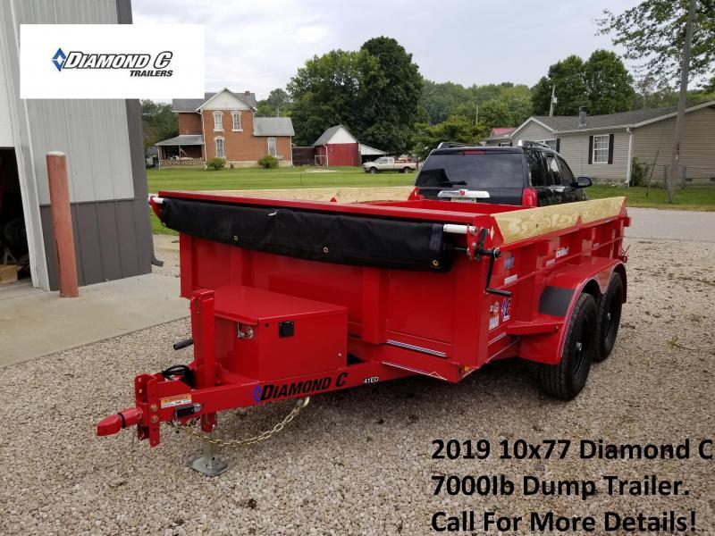 2019 10x77 7K Diamond C Dump Trailer. 4964