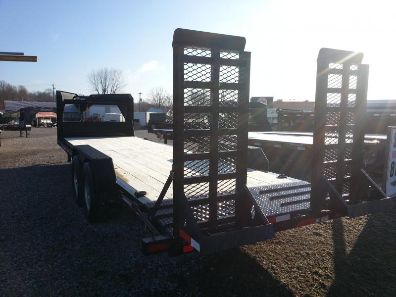 2018 22+2 Gooseneck Diamond C Equipment Trailer. 97897
