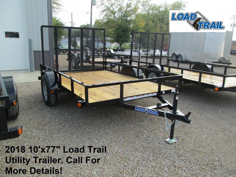 "2018 10'x77"" Load Trail Utility Trailer. 48293"