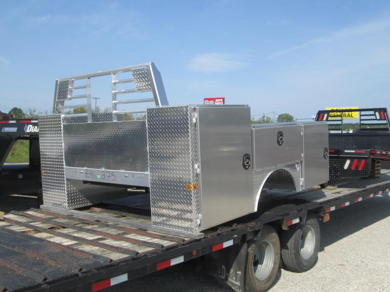 2020 8x9.5  Zimmerman Service Body Truck Bed