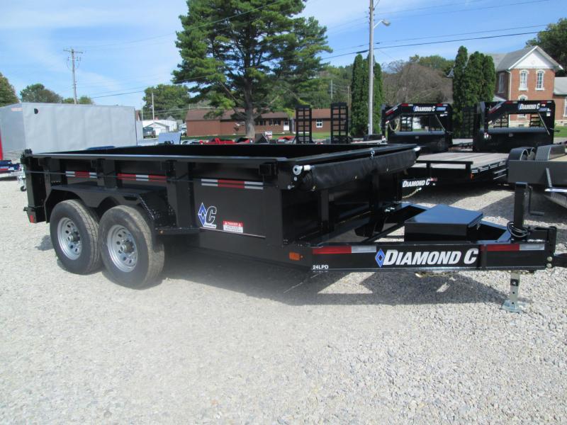 """2019 12'x82"""" 14.9K Diamond C Dump Trailer. 6300"""
