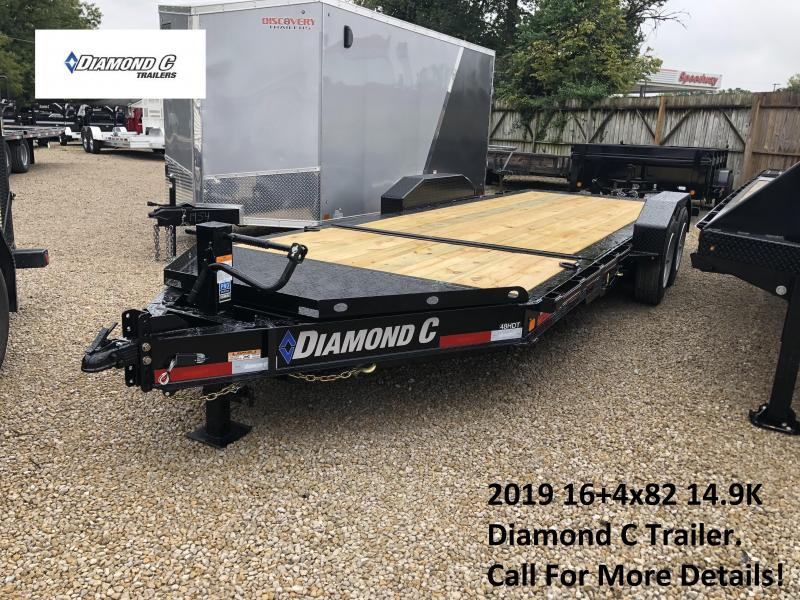 2019 16+4x82 14.9K Diamond C Equipment Trailer. 5980