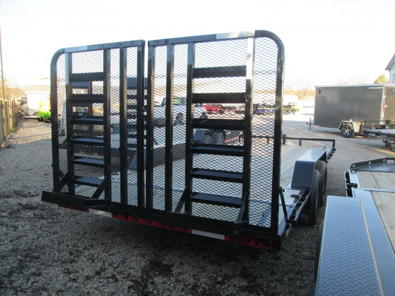 "2018 102""x18'+2' 10K Load Trail Equipment Trailer. 48289"