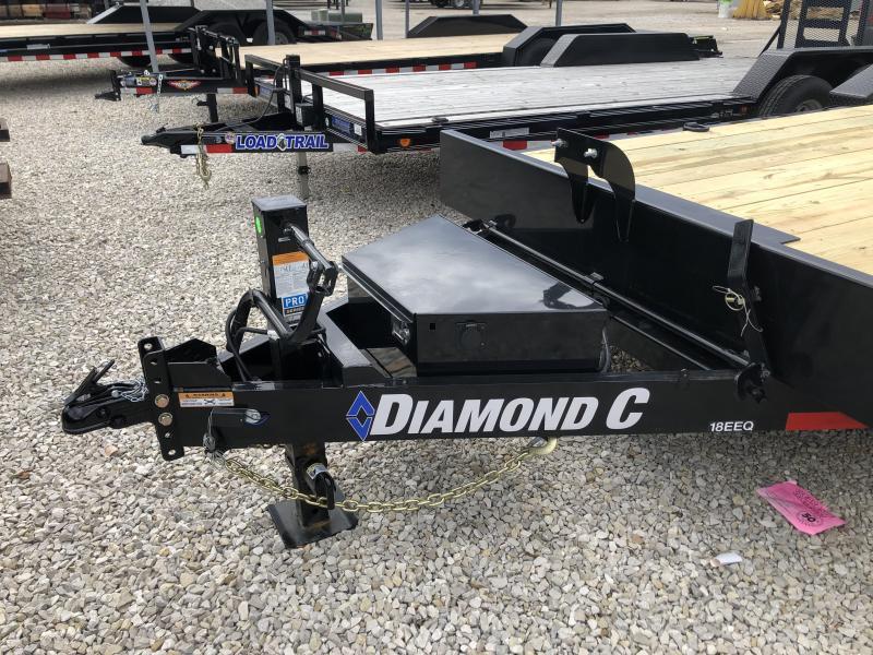 2019 22' 14.9K Diamond C Equipment Trailer. 9108