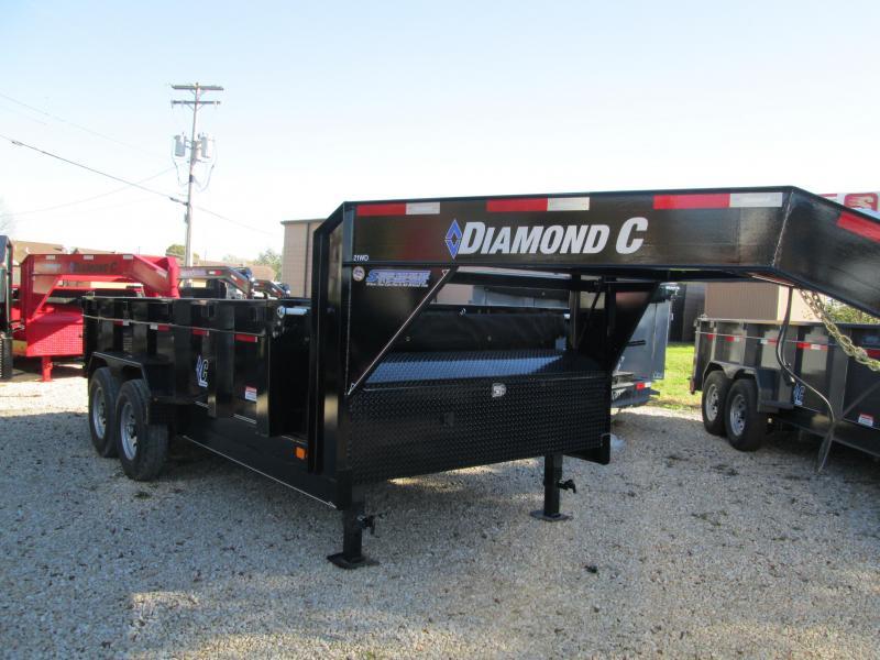 2019 14x82 14K Diamond C GN Dump Trailer. 6564