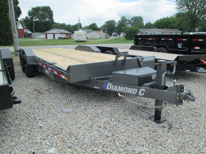 "2018 22'x82"" 14.9K Diamond C Equipment Trailer. 2132"
