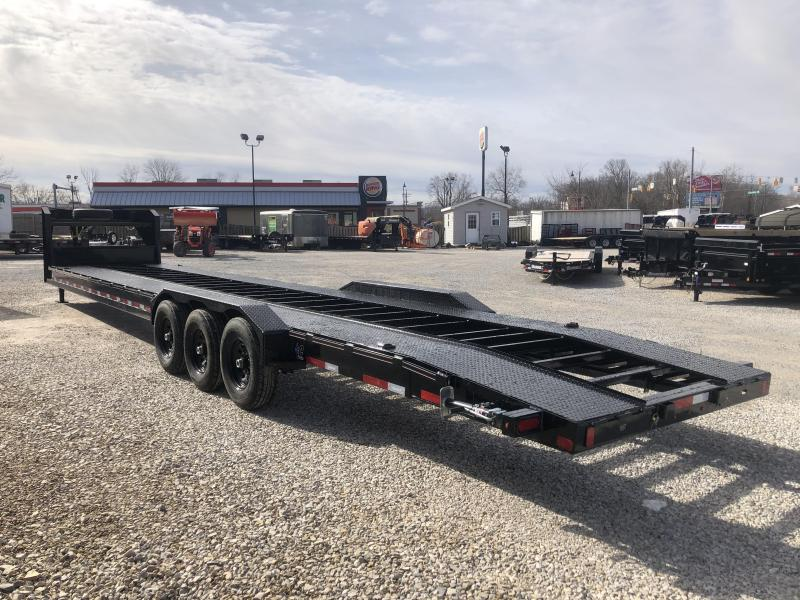 2019 40x82 24K Diamond C GN Multi-Car Trailer. 11781