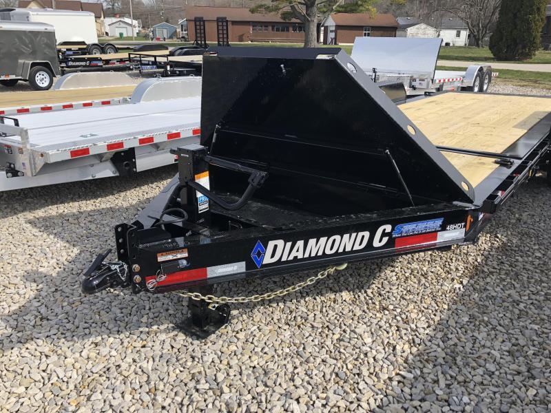 "2018 20'x82"" 14.9k Diamond C Equipment Trailer. 98800"