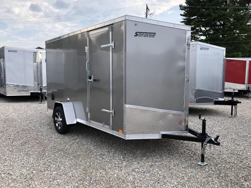 2019 6'x12' Discovery Enclosed Trailer. 3231