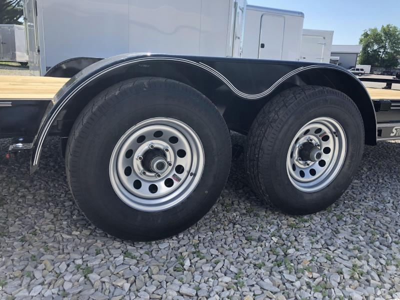 2018 16'+2' 10k Diamond C Car Trailer. 00890