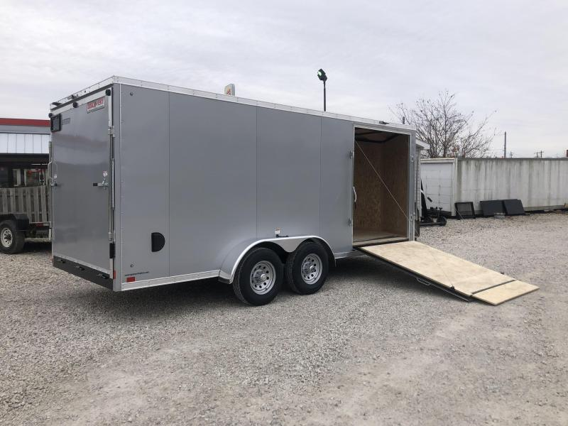 2019 7x18 Discovery Enclosed Trailer. 3770