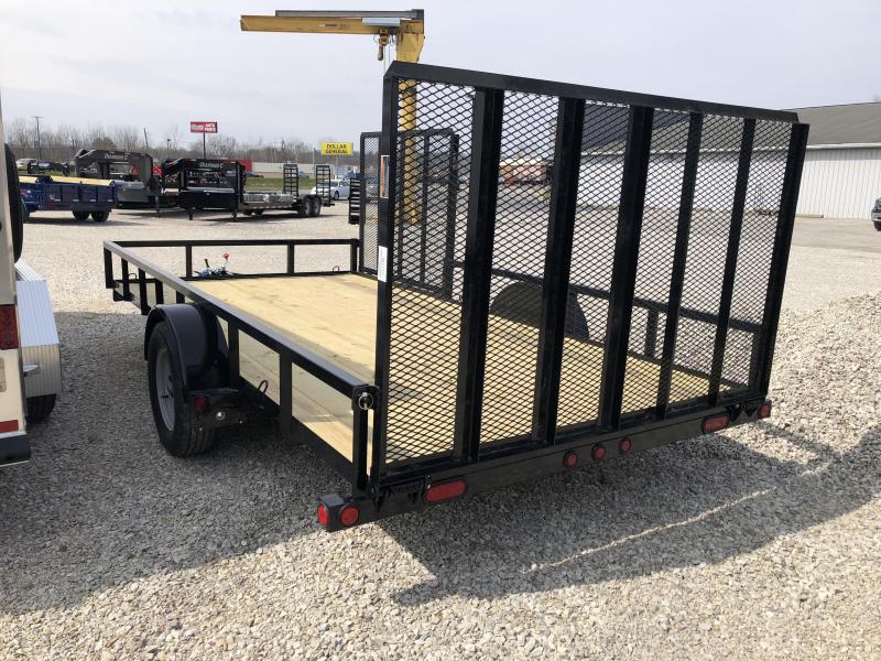 "2018 83""x 14' Single Axle Load Trail Utility. 61172"