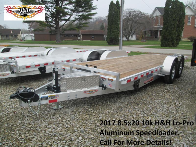 2017 8.5x20 10k H&H Lo-Pro Aluminum Speedloader. 76428