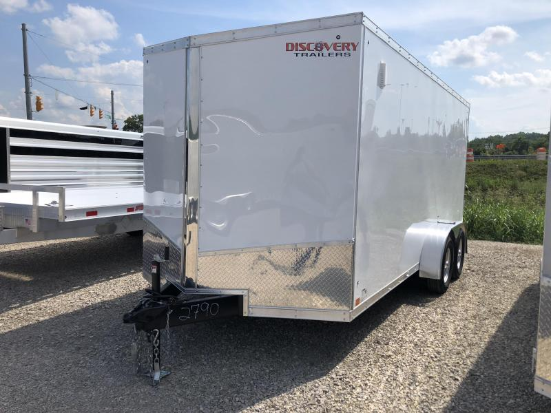 2019 7x16 7K Discovery Enclosed Trailer. 2790