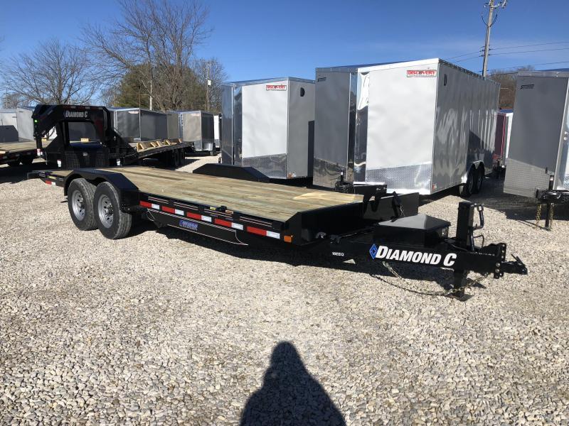 2019 22x82 14.9K Diamond C Tilt Equipment Trailer. 08998