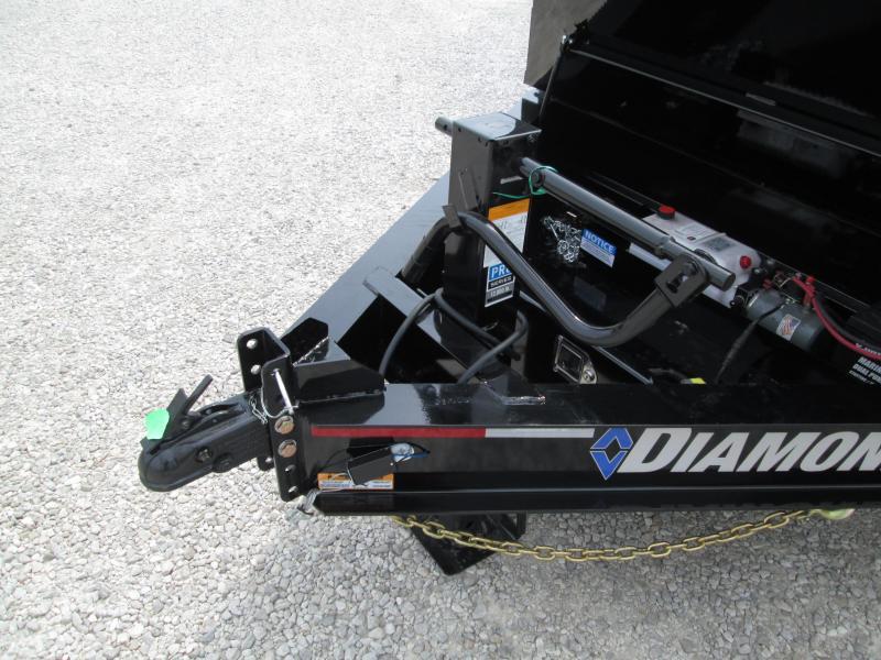 "2019 82""x16' 14900lb GVWR Diamond C Low-Pro Dump. 17505"