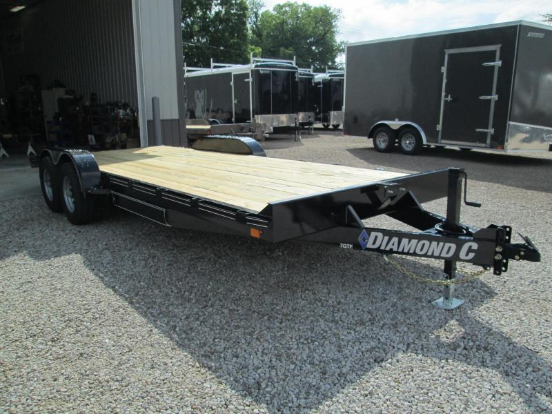 "2018 20'x83"" 10K Diamond C Car Trailer. 2265"