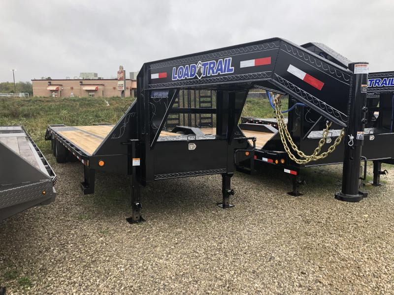 2019 25+5x102 22K Load Trail GN Equipment Trailer. 75489