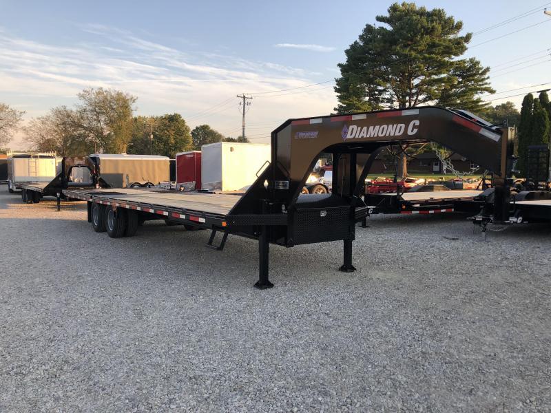 2019 20+12x102 25K Diamond C GN Equipment Trailer. 4962