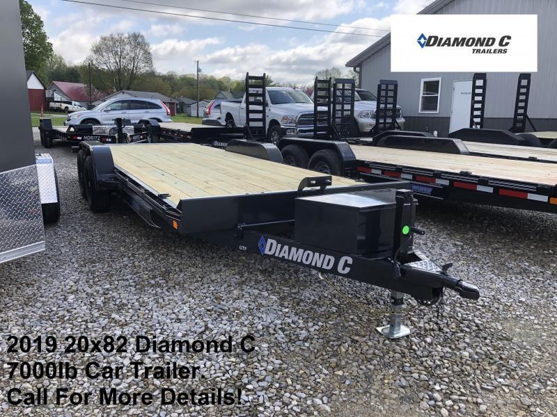 2019 20x82 7K Diamond C Trailer. 14024