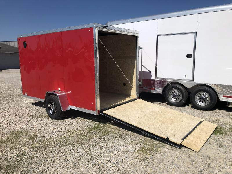 2019 6x12 Discovery Enclosed Trailer. 02637