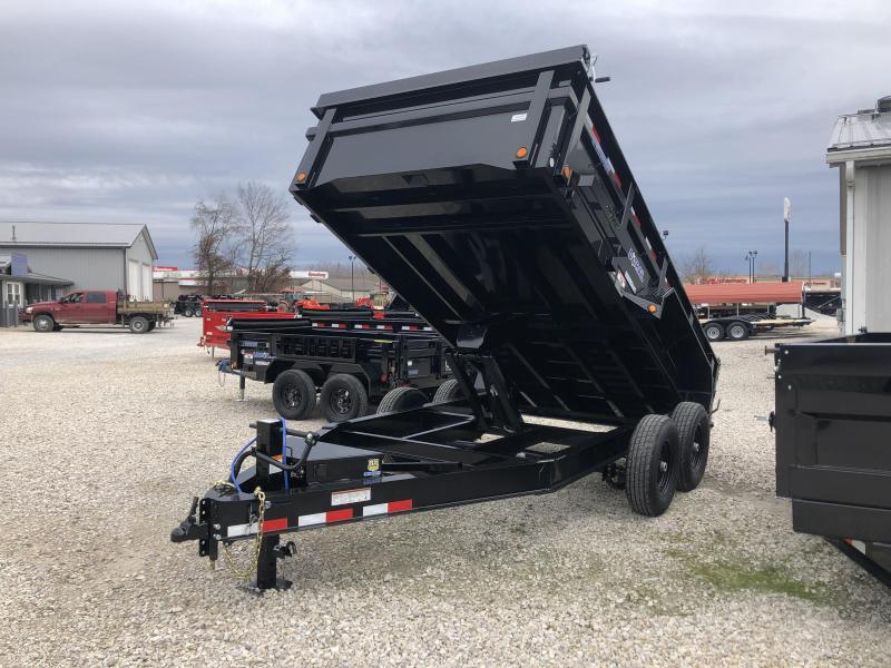 "2019 83""x14' 14k Load Trail Dump Trailer. 80070"