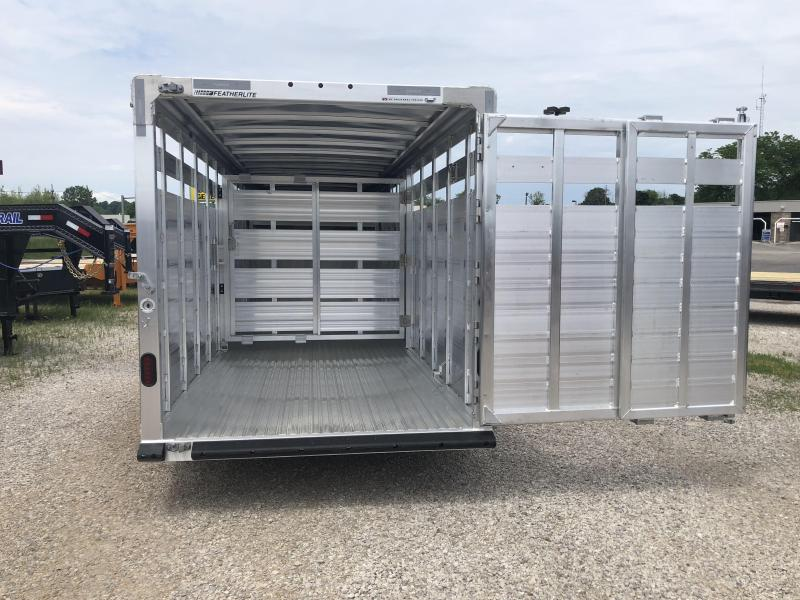 2019 20' 14k Featherlite Gooseneck Stock. 149533