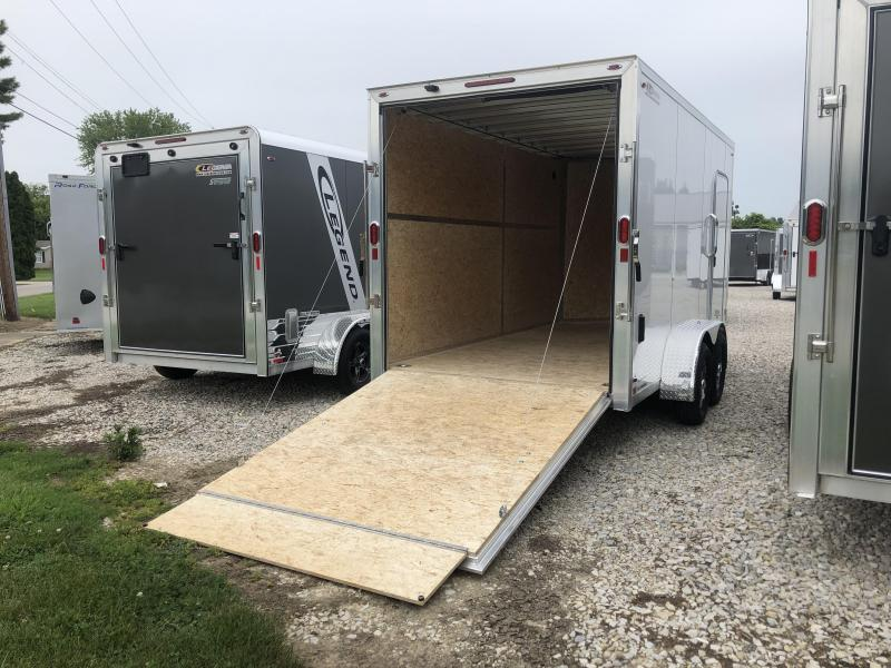 2019 7x14 Legend Manufacturing FTV Enclosed Cargo Trailer