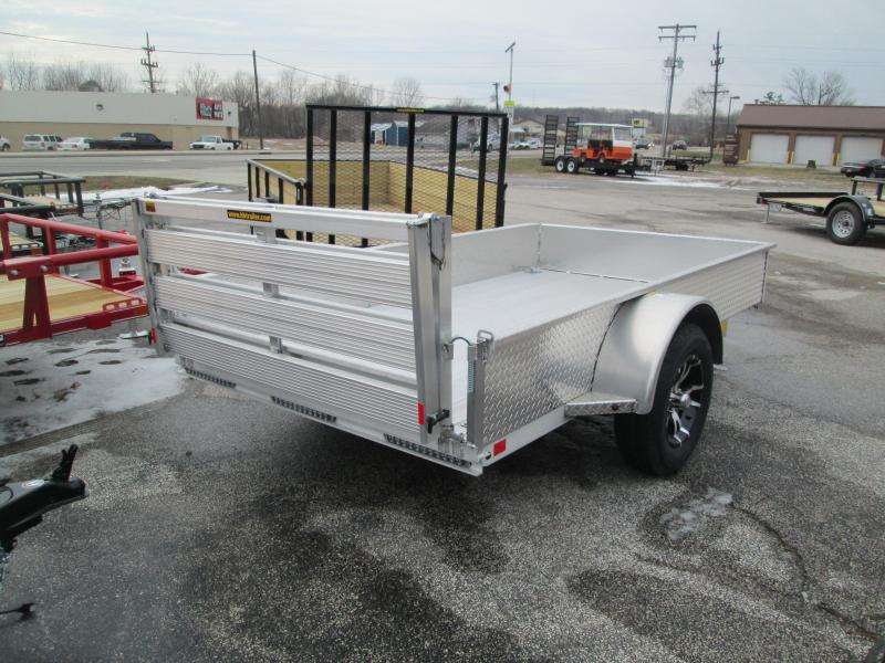 2017 5.5x10 H&H Solid Sided Aluminum Utility. 67410