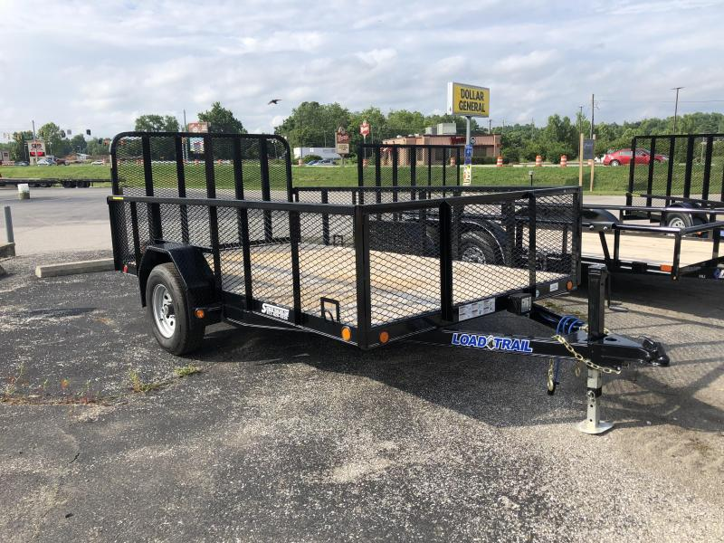 "2018 83""x12' 5.2k Load Trail Landscape Single Axle Utility. 62689"