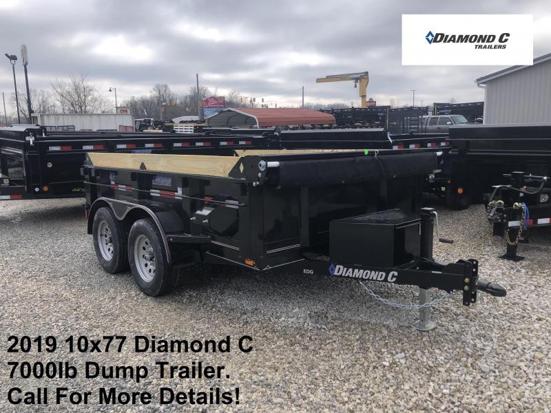 2019 10x77 7K Diamond C Dump Trailer. 11187