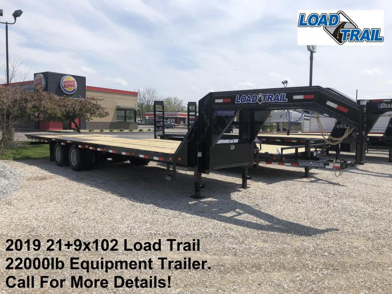 2019 21+9x102 22K Load Trail Equipment Trailer. 86278
