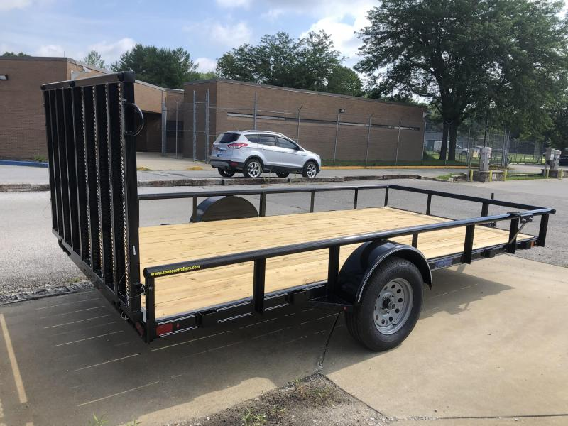 2019 14x83 Diamond C GSA135 Utility Trailer. 16854