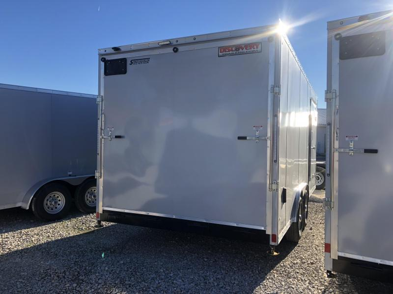 2019 8.5'x18' 10K Discovery Enclosed Trailer. 3893