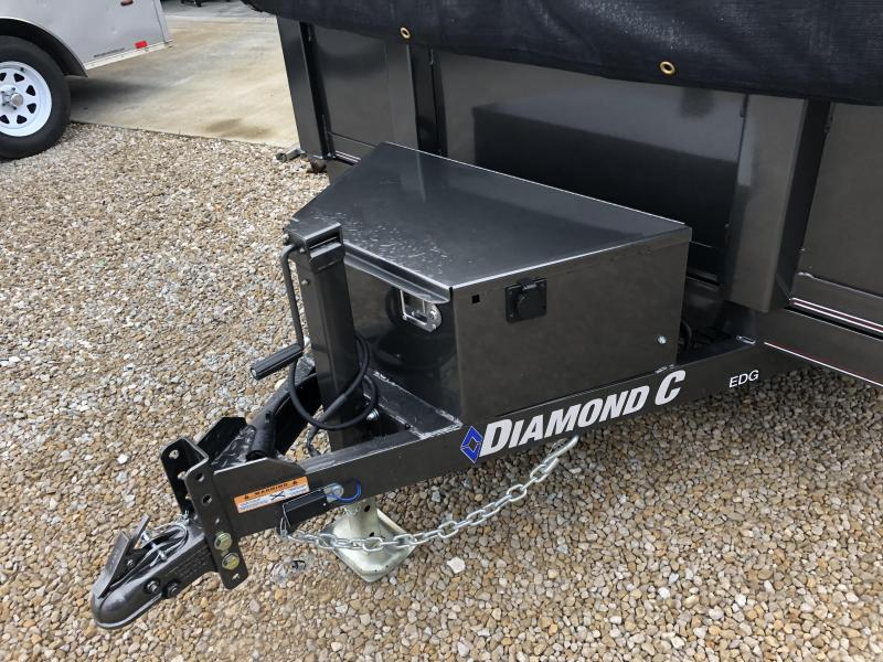 2019 10x77 10K Diamond C Dump Trailer. 15697